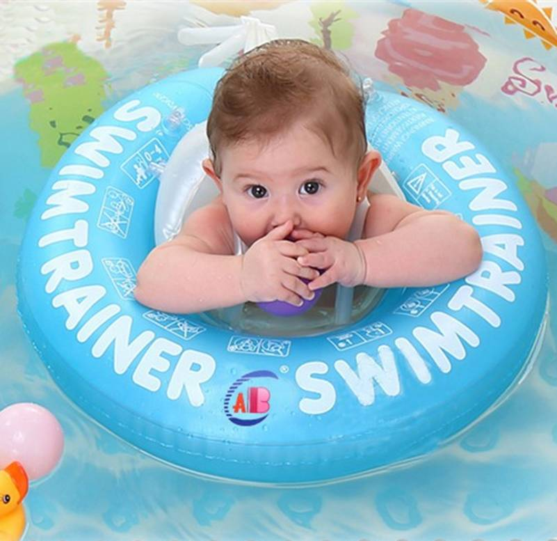 Baby Swim Ring Baby Swimming Circle Belly Pad Pool Float Ring Infant Swim Trainer Inflatable Baby Neck Circles Kids Float Seat(China (Mainland))