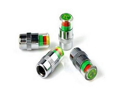 Automobiles Motorcycles 4PCS Car Auto Tire Pressure Monitor Valve Stem Caps Sensor Indicator Eye Alert Diagnostic
