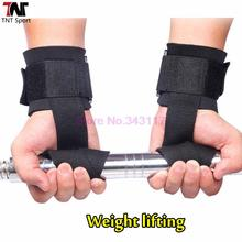 Fitness Weight Lifting Straps Sports  Wrist Support  Weightlifting Gloves Protector Gym Weight Lifting Straps S093(China (Mainland))