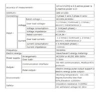 Счётчик энергии Saip 80 , 80 * 80 * 90 sp/80ye SP-80YE