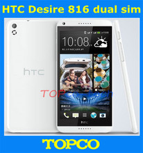 "HTC Desire 816 dual sim Original Unlocked Android Quad-core Mobile Phone 5.5"" 13MP WIFI GPS 8GB GSM 3G dropshipping(China (Mainland))"