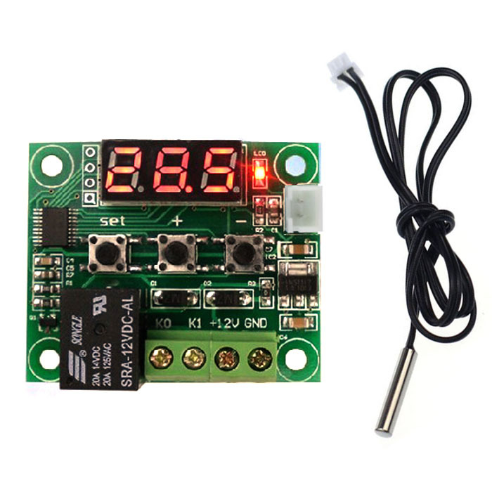 -50-110 Dregree DC12V Heat Cool Temp Thermostat Temperature Control Switch Measurement&Analysis Instruments Free Ship Wholesale(China (Mainland))