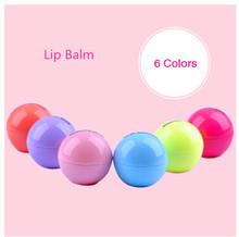Full Lips Lip Enhancer 6 color Natural Plant Organic Sphere  Pomade Coc Cola Ball Lipstick Embellish Lip Balm,Chapstick(China (Mainland))