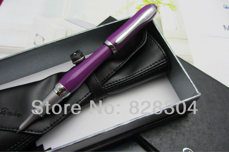 Duke Lady Purple ultrafine fountain pen free shipping<br><br>Aliexpress