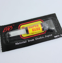 3 Pcs Adhesive Extremely Strong Rapid Bond Cure 502 Tube Super Glue Liquid Glue(China (Mainland))