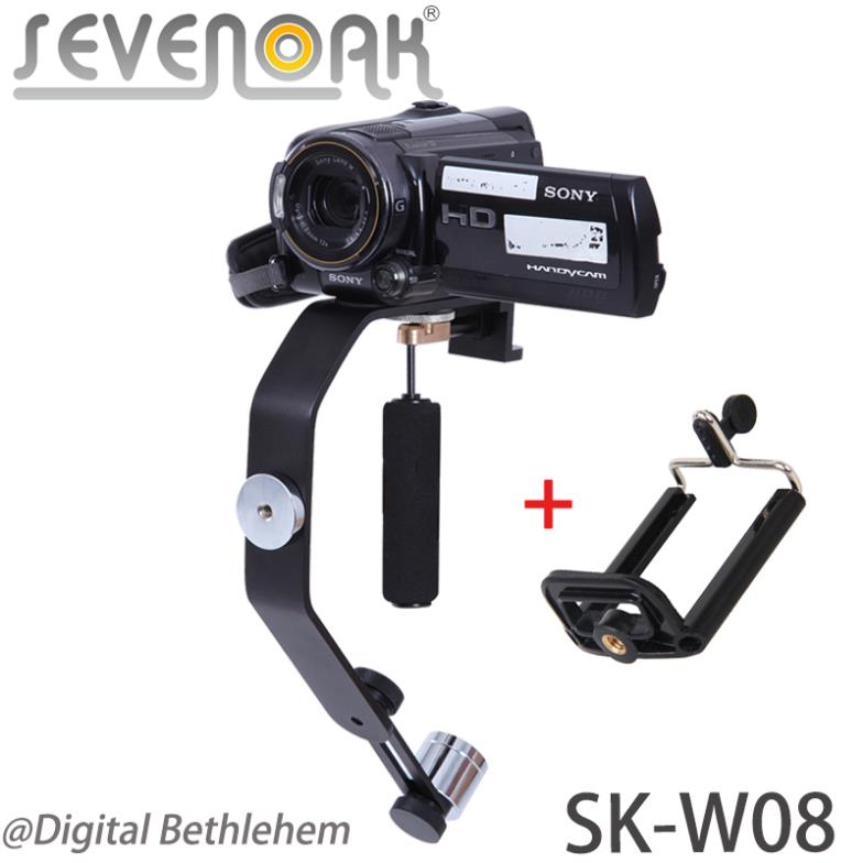 Sevenoak SK-W08 Mini Action Stabilizer Handheld Steadycam with Phone Bracket for iPhone 5 4S GoPro Hero 3+ for Sony DV Camcorder<br><br>Aliexpress