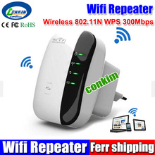 New Arrival Hot Sale Wireless 802.11N WPS 300Mbps Wifi Repeater AP Router Range Expander Drop Shipping & Wholesale Free Shipping(China (Mainland))