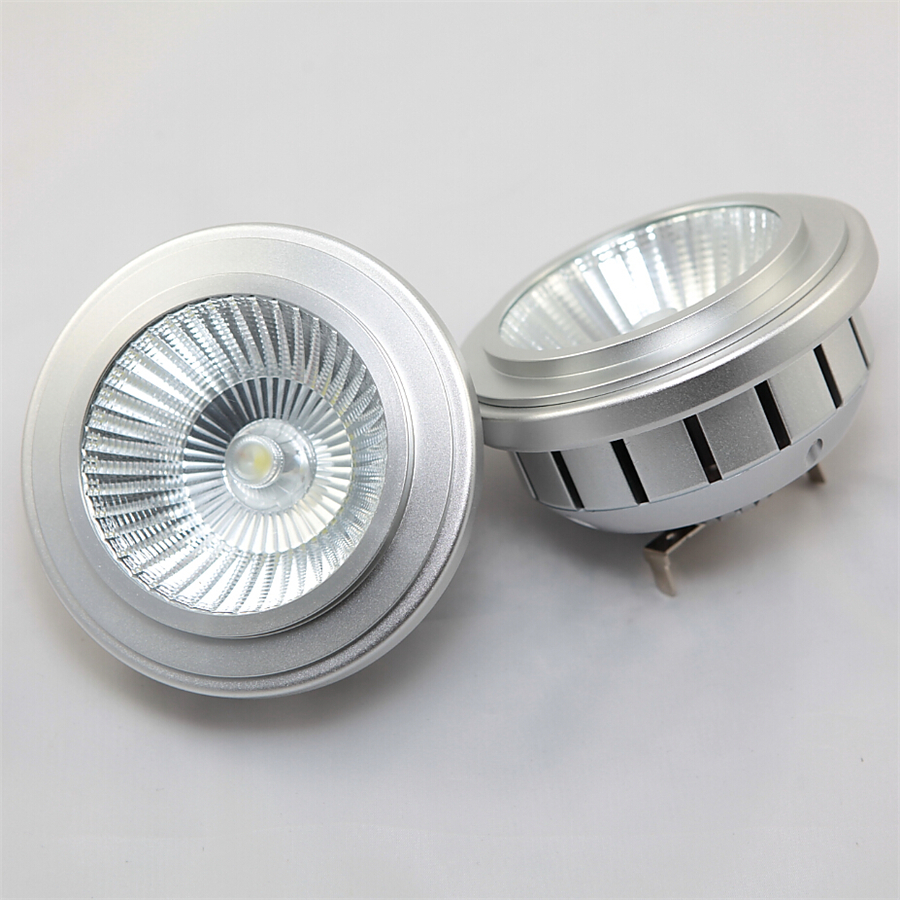 Dimmable COB AR111 LED Spotlight Lamp GU53 LED Bulb AC85V-265V Warm White Cold White 15W for Home and Commercial Lighitng(China (Mainland))