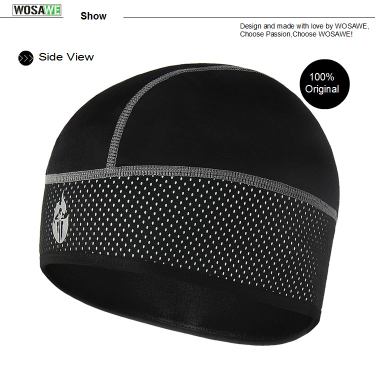 WOSAWE Winter Cycling Caps casquette moto scarf Wear Hiking Skiing Bike Bicycle Fleece Thermal Windproof Hat sudadera hombre