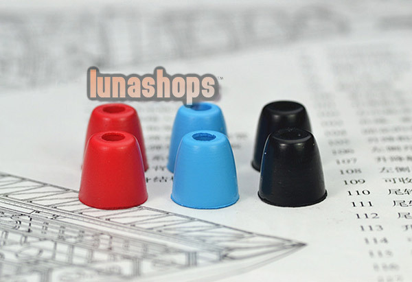 Replacement Comply Foam Tips Earcaps Earbuds tips for IE6 IE7 IE8 CX6 CX95(China (Mainland))