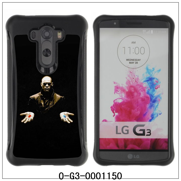 Newest For LG G3 D830 D850 ,Hybrid Heavy Duty Shockproof Ballistic Case-Morpheus Matrix Red Or Blue(O-G3-0001150)(China (Mainland))