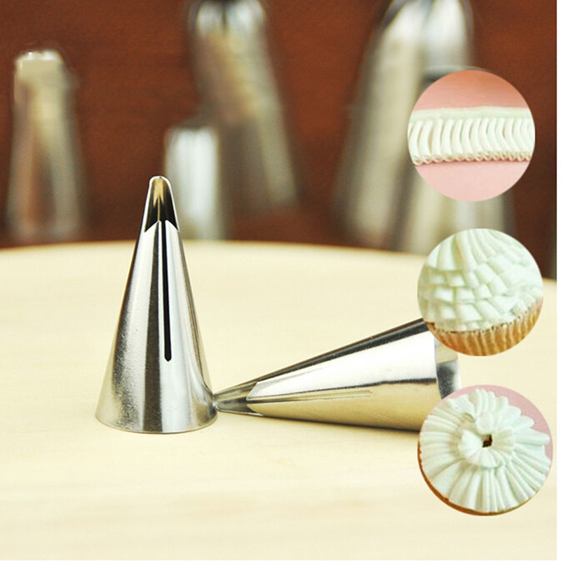 Decorating Cake Pop Tips : Hot Creative Icing Piping Nozzle Cake Decorating Pastry ...