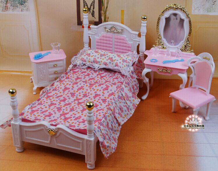 furniture bedroom accessories for barbie kurhn doll baby toys