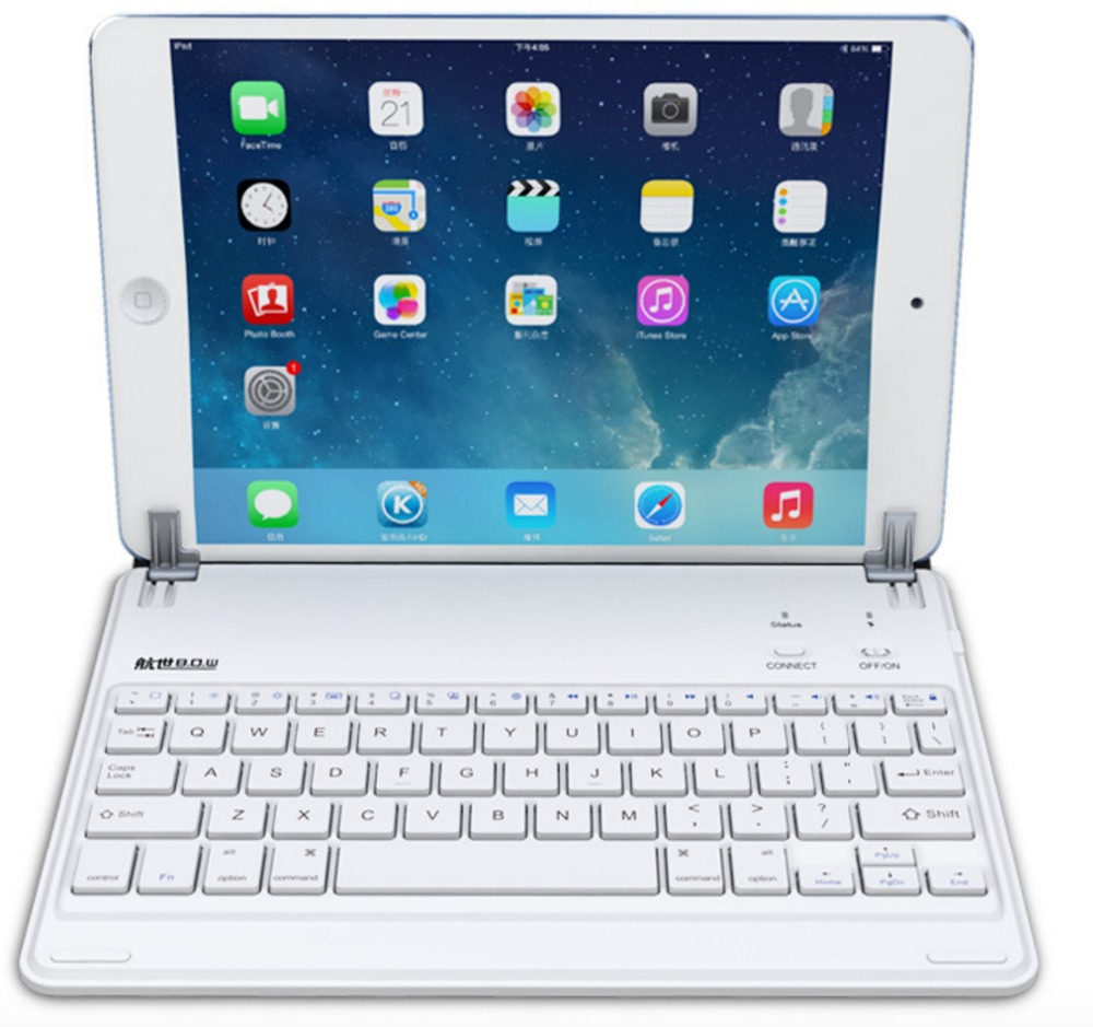 bluetooth keyboard for ipad mini & air1 air2 wireless keyboard(China (Mainland))