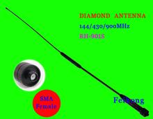 Diamant rh901s sma-f weiblichen Dualband-Antenne für walkie-talkie tg-uv2 kg-uvd1p px-888k baofeng uv-5r uv-b5 bf-888s uv-5ra(China (Mainland))
