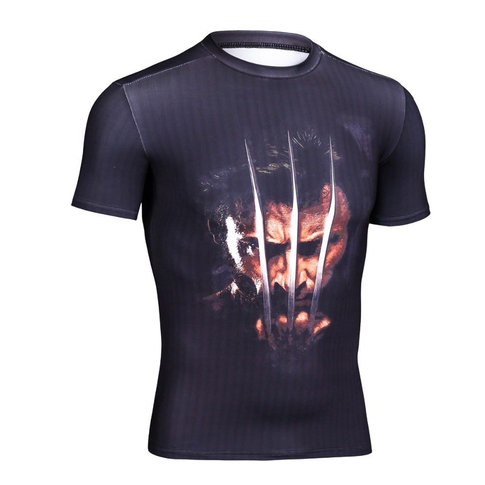 Mens superhero armour compression base layer tights men for Compression tee shirts for men