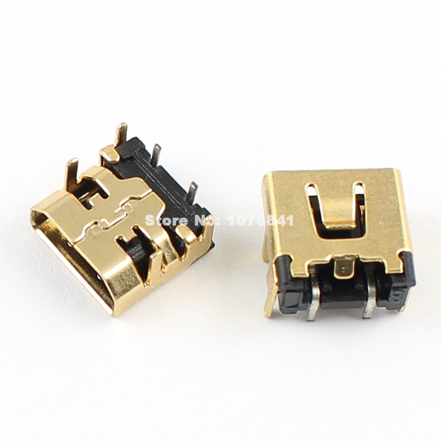 10 Pcs Per Lot Replacement DC Power Jack Socket Connector for Nintendo DS Lite NDSL(China (Mainland))