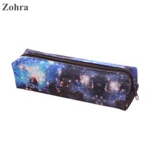 Zohra Galaxy Space 3D printing travel Makeup organizer pencil bags neceser Women Cosmetic Bag organizador maleta de maquiagem