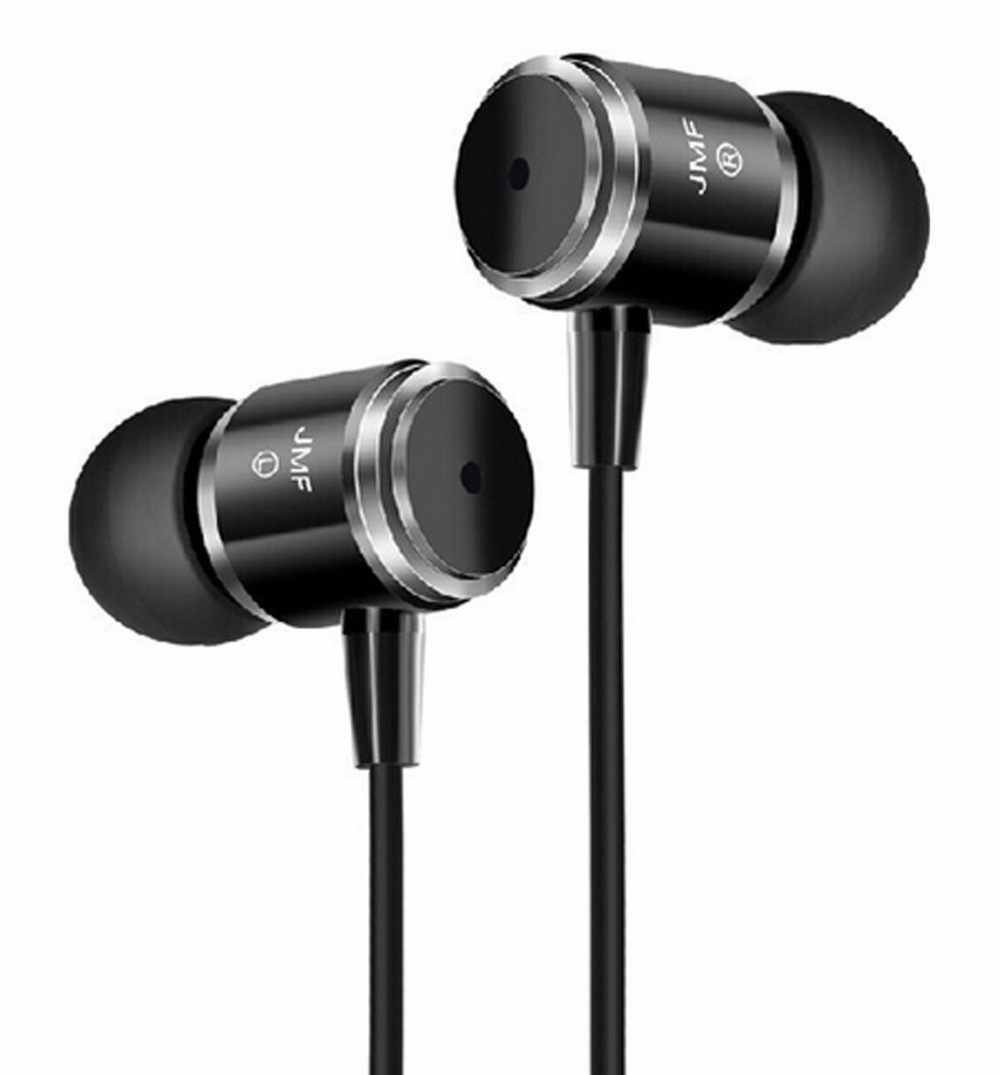 Original JMF 3.5mm Stereo Bass earphone Headphone Headset for your Mobile Phone iphone Desktop Samsung Laptop MP3 PC Player sony(China (Mainland))