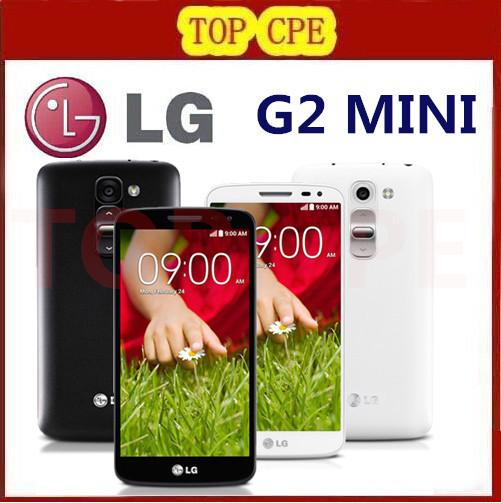 "Unlocked LG G2 Mini D620 Original Cell phone Quadl Core 4.7"" Capacitive Screen 8MP Camera 1G RAM 8G ROM 3G 4G Android Phone(China (Mainland))"