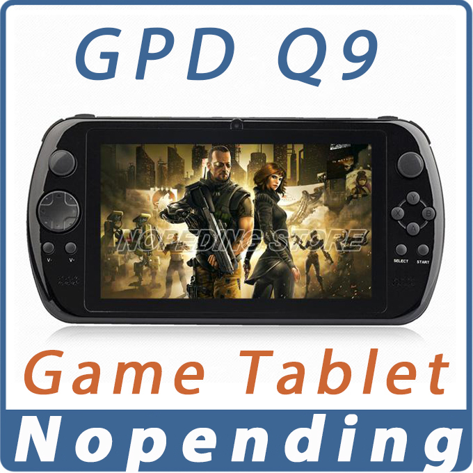 NEW GPD Q9 GamePad Game Tablet PC RK3288 7'' Android 4.4 Quad Core Game Handheld Console 2GB/16GB 3D Game Player 0.3MP Camera(China (Mainland))