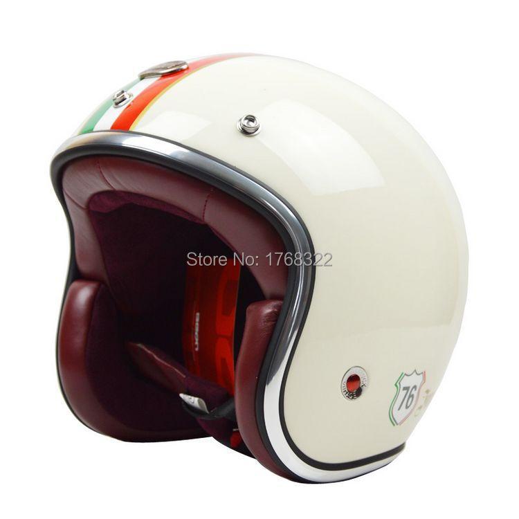 2014 BEON new men women Personalized motorcycle helmet 3/4 open face vintage Jet retro scooter racing helmets ECE - VECCHIO MOTORCYCLE SUPPLIES Store store