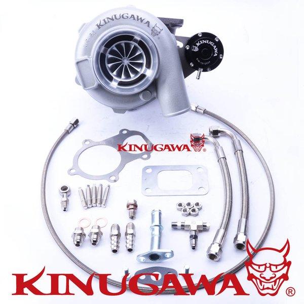 "Kinugawa Ball Bearing Turbocharger 4"" GTX3076 A/R .63 T3 Internal WG Swing Valve #301-03001-009(China (Mainland))"