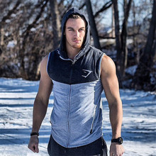 Mens Bodybuilding Hoodies Gym Brand-clothing Workout Shirts Hooded Sport Suits Tracksuit Men Chandal Hombre Gorilla wear Animal(China (Mainland))