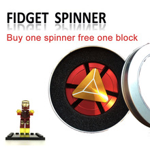 Buy Fidget Spinner Iron Man Hand Spinner Finger Spinner Metal Spinner Captain America Shield Toy Marvel Superheroes beyblade Bearing for $8.08 in AliExpress store