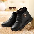 Women Winter Boots Warm Snow zipp Boots Female Shoes Australia Ankle Boots Plush Insole Waterproof Buckle