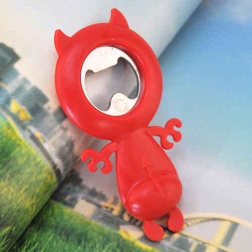 Qq sugar small little demon bottle opener(China (Mainland))