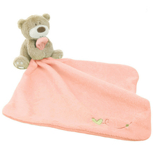 Baby Hand Towels Super Soft Appease Doll Infant Toys Bear Comfort Plush Scarf Saliva Towel Comfort Doll(China (Mainland))