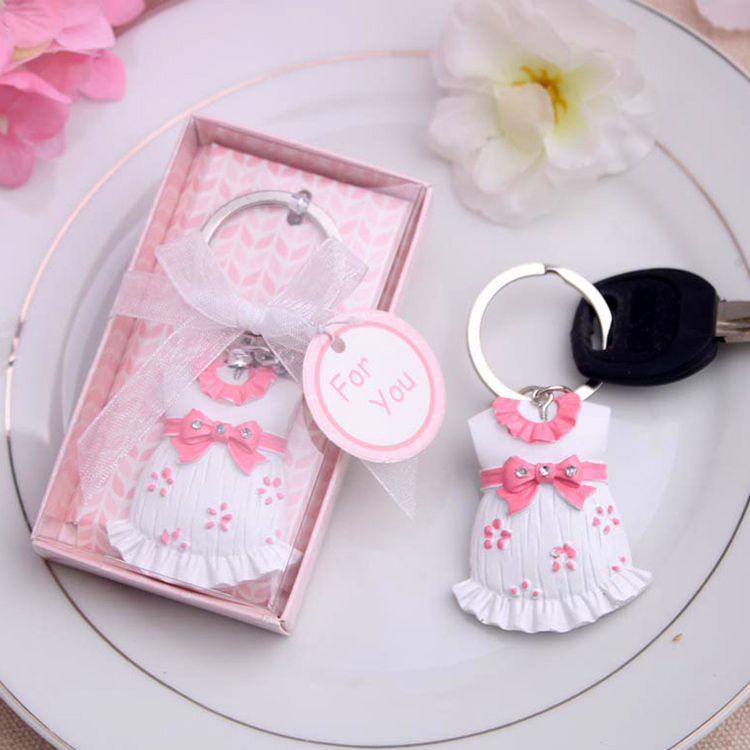 baby shower favor gift and giveaways for guest baby keychain birthday