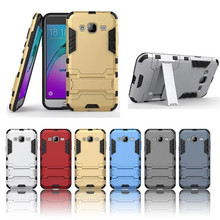 2 1 Kickstand Plastic PC + TPU Hybrid Armor Hard Case Cover Samsung Galaxy J1 Ace / J2 J3 J5 J7 Cases Back - Y0Y0 Co.,LTD. store