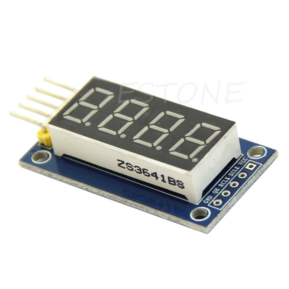Free Shipping 4 Bits Digital Tube LED Display Module Four Serial for Arduino 595 Driver<br><br>Aliexpress