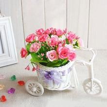 Europe round weaving basket the cane float  vase for wedding decoration home JS0632(China (Mainland))