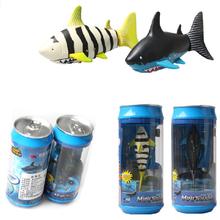 1 piece Mini 3310B-1 Creative 3 Channel Radio Control Mini RC Shark ELECTRIC Shark fish Boat Kids Toy(China (Mainland))