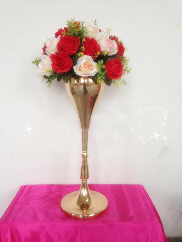 New style cm quot gold wedding flower vase