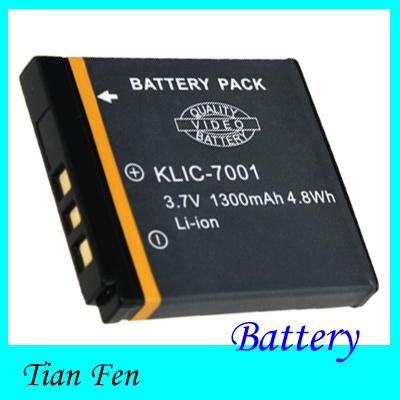 High Quality 1pcs Lithium rechargeable KLIC-7001 KLIC7001 Camera Battery for Kodak Easyshare M340 M341 M863 M893 IS M1063 M1073<br><br>Aliexpress
