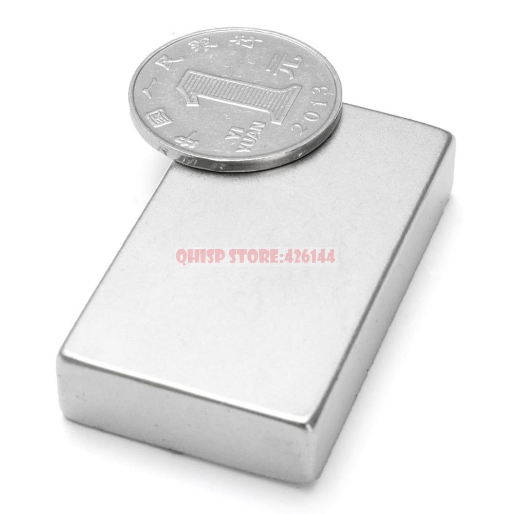 2015 Special Offer Magnets Neodymium Disc 3 Pcs/lot _ Strong Rare Earth Block Magnet 46mm X 30mm 10mm N35