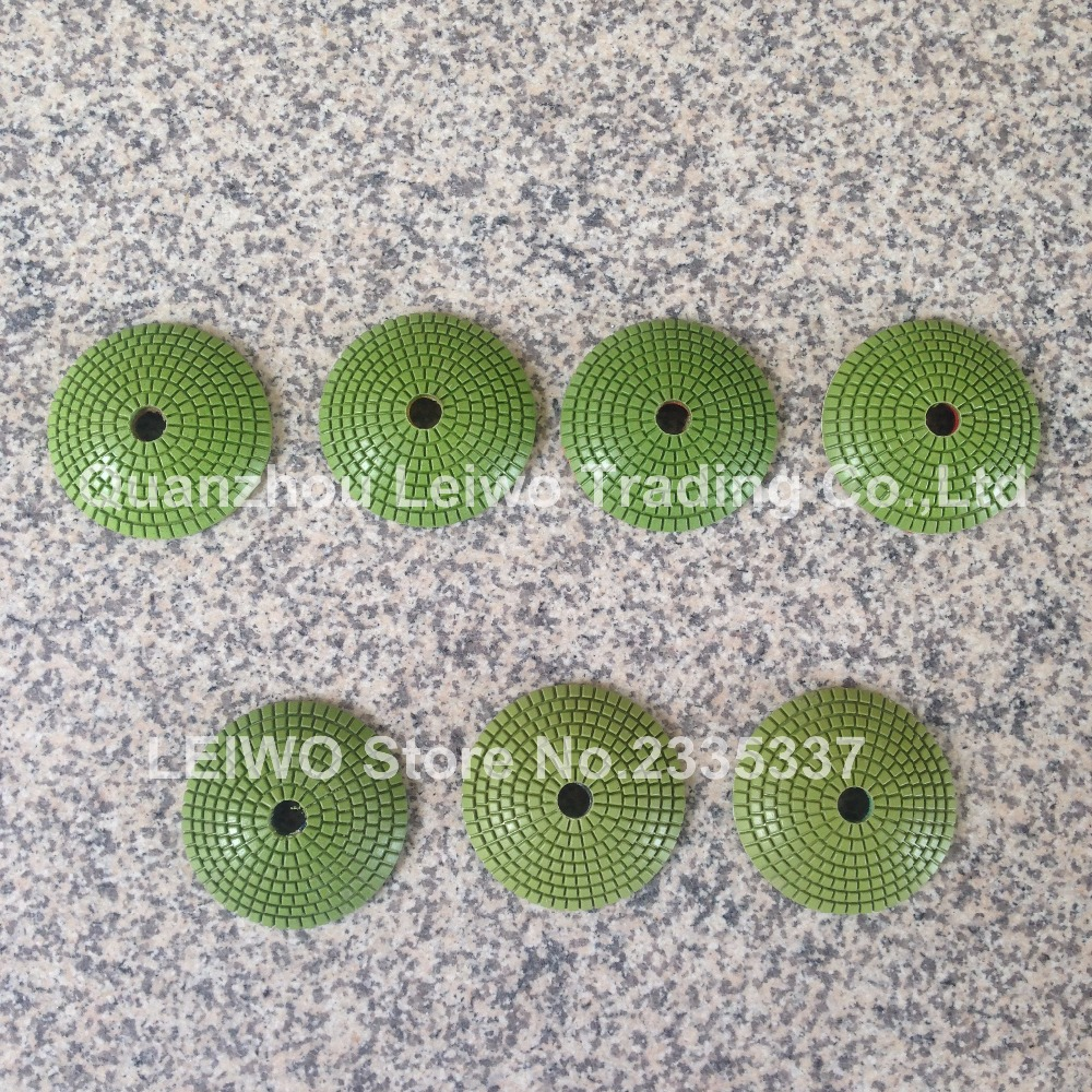Convex Polishing Pads 4 inch (100 mm) Diamond Resin Polishing Pad Wet Polish Concave Sink or Ogee Edge on Granite Marble Stone(China (Mainland))