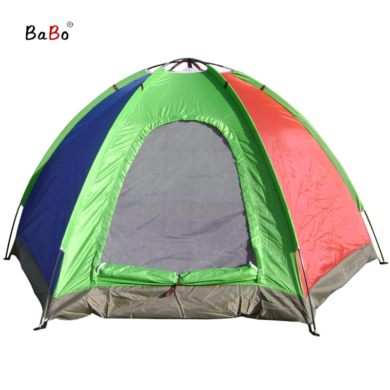 P20 3-4 Person Outdoor Sport Camping Tent One Bedroom Ultralight Fishing Tackle Summer Waterproof Tent ZP001<br><br>Aliexpress