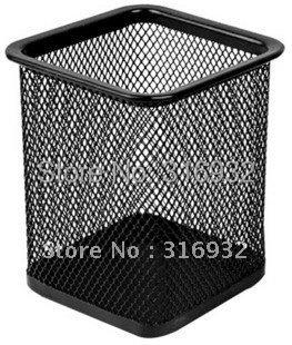 Pen container/net lattice pen container/tabletop info clerk/storage box
