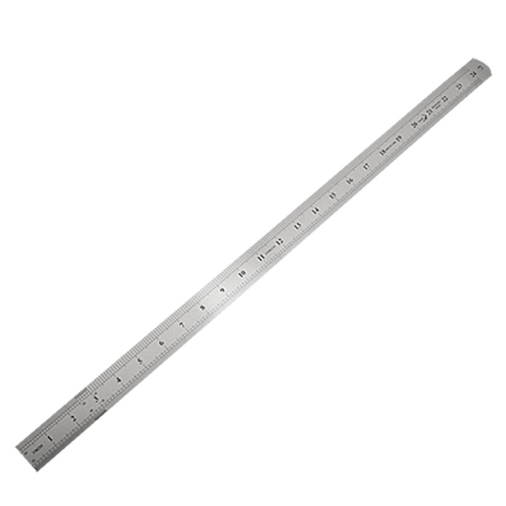 WSFS Wholesale 2 X Stainless Steel 60cm 24.6 Inch Measuring Long Straight Ruler<br><br>Aliexpress