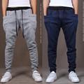 2017 New Spring Fashion Brand Men s Clothing Men s Sweat Pants Quality Men s Slim