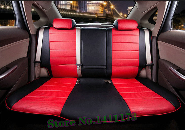 Custom fit car seat covers for toyota land cruiser cover seats PU leather car seat cushion cover automobiles supports 23PCS/set