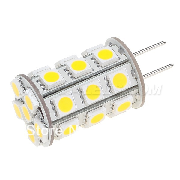 free shipment led lamp 12vac 12vdc 24vdc 27led of 5050smd 4w dimmable white. Black Bedroom Furniture Sets. Home Design Ideas