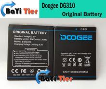Новый Doogee DG310 аккумулятор 100% оригинальный 2000 мАч емкость аккумулятор для Doogee DG310 MTK6582 четырехъядерных процессоров смартфон + в наличии