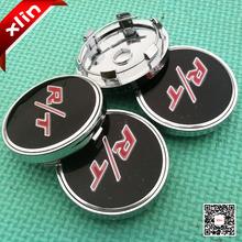 4pcs Newest 60mm R/T RT logo Car Wheel center Hub Cap Auto Badge Emblem covers styling(China (Mainland))