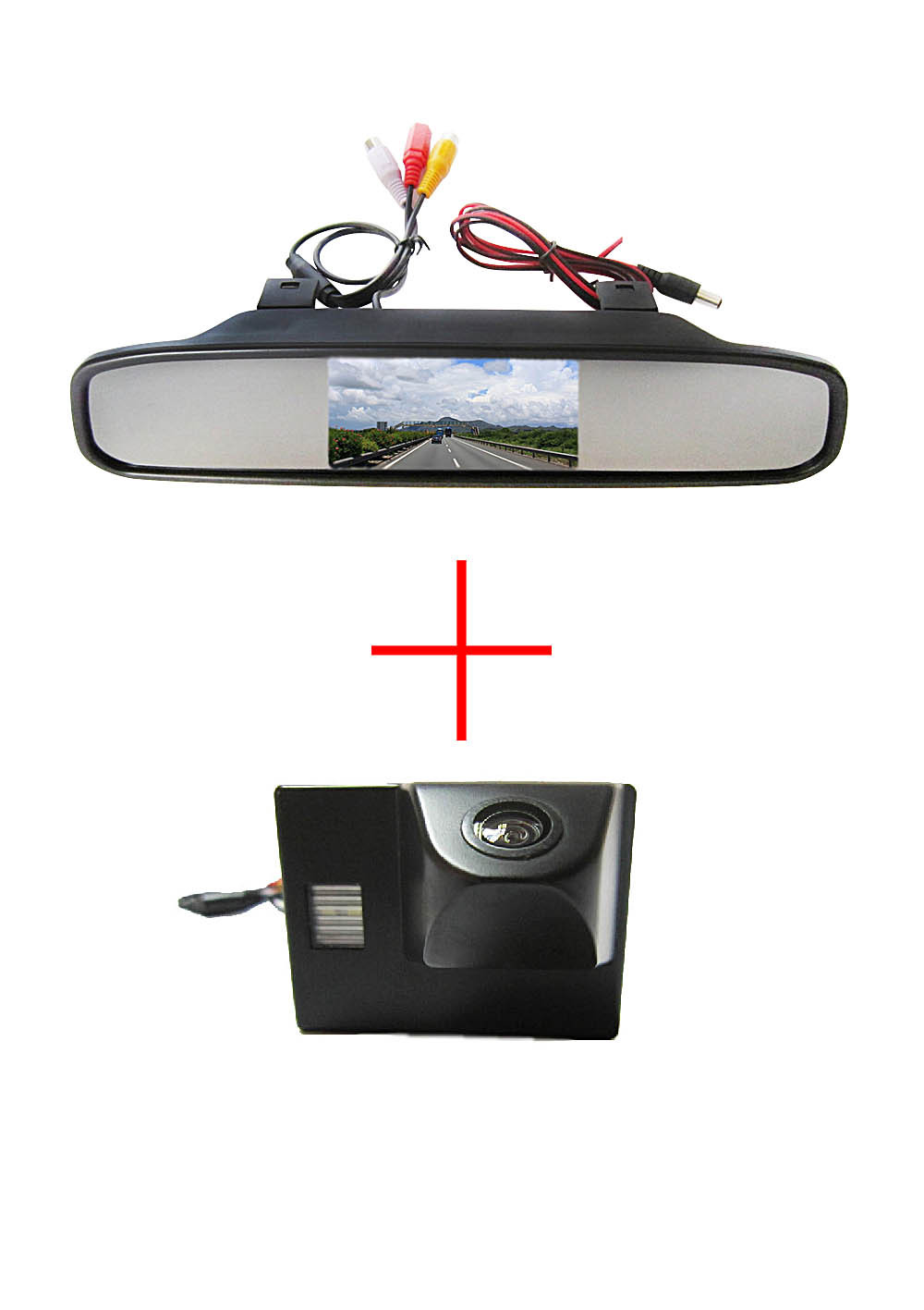 Color CCD Car Rear View Camera for TOYOTA Land Cruiser LC 100 120 4500 4700,with 4.3 Inch Rear view Mirror Monitor<br><br>Aliexpress